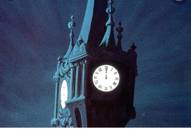 fancy clock strikes 12 pic - Google Search